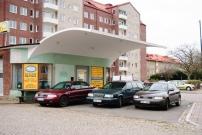 Older retired gasstation on Mellanheden, Malmö.