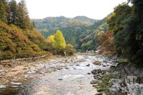 Autumn colors at Korankei.