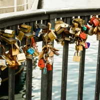 Love Locks at Nyhavn, Copenhagen